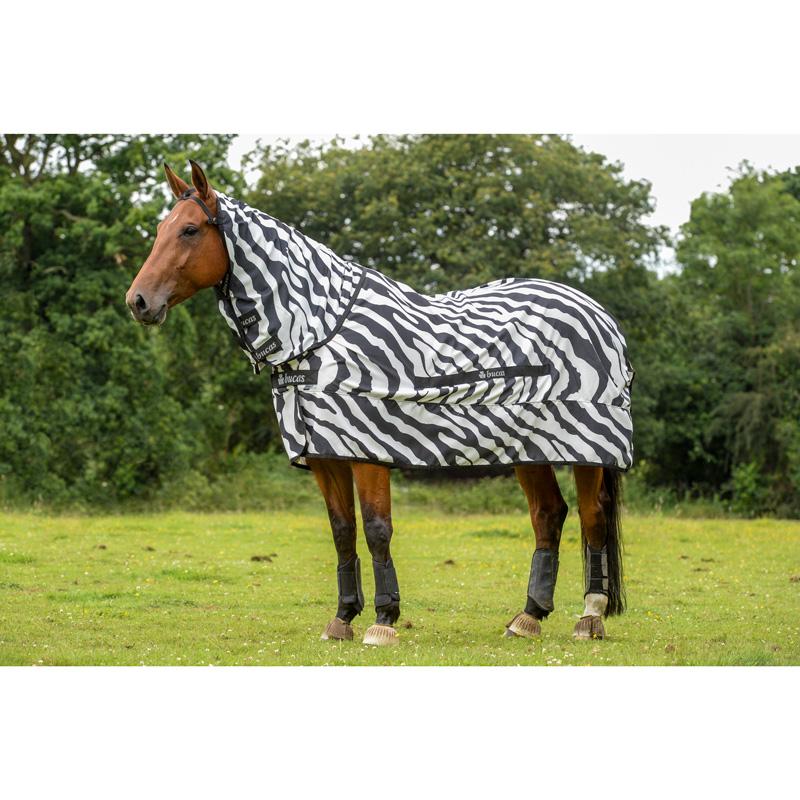 Bucas Sweet Itch Zebra Rug From Amira Equi Online Shop