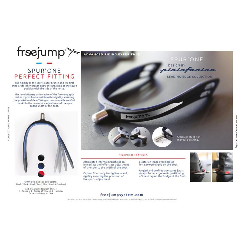 Freejump Spur/'One Spurs Black-Pearl Blue